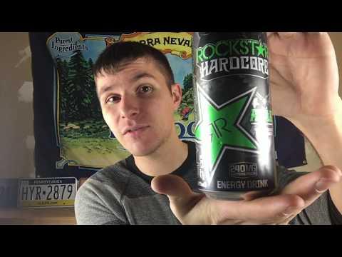 Rockstar Hardcore Apple Energy Drink Review