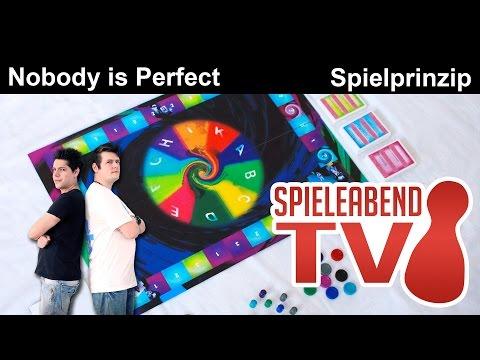 Spieleabend #1 ★ Nobody is Perfect ★ Teil 1 - Spielprinzip