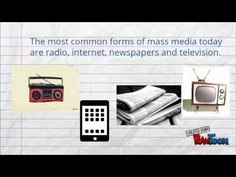 Advantages And Disadvantages Of Mass Media