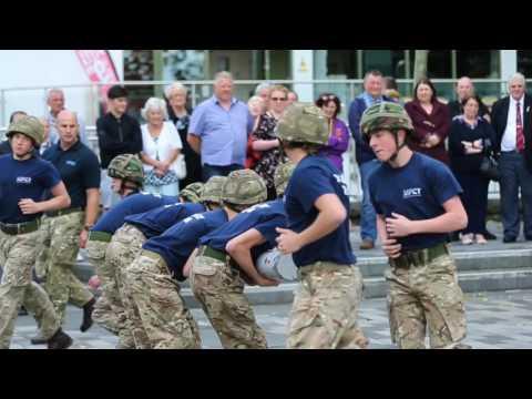 Military Preparation College Merthyr Tydfil Launch   3 October 20161