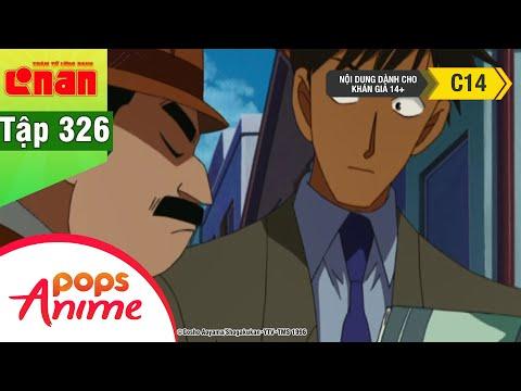 Thám Tử Lừng Danh Conan - Tập 326 - Nghệ Thuật Chứng Cứ Ngoại Phạm Của Ninja - Conan Mới Nhất