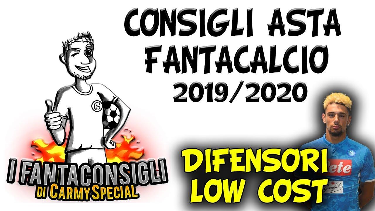 I DIFENSORI LOW COST! CONSIGLI ASTA FANTACALCIO 2019/20