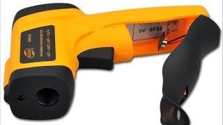 Бесконтактный инфракрасный термометр с лазерной указкой Benetech GM550(Приобрести с бесплатной доставкой можно здесь - https://goo.gl/kAwNkM, Экономьте на любых покупках в интернет магазин..., 2016-10-26T14:46:17.000Z)