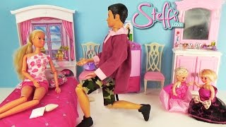 Мультик с куклами Штеффи Малыши играют дома Познавательное видео для детей Мультфильм для девочек