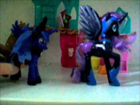 Mlp luna and nightmare moon confrontation