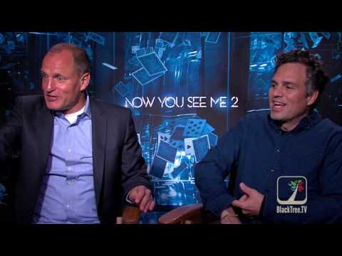 Woody Harrelson and Mark Ruffalo on Now You See Me 2, Super Delegates and the Election