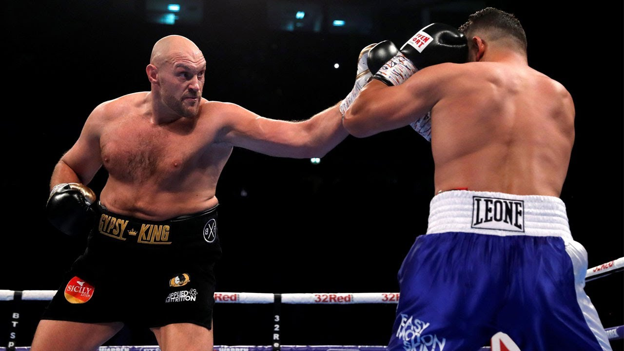 Tyson Fury v Sefer Seferi Full Highlights TKO HD