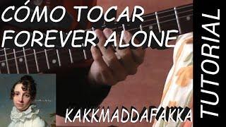Como Tocar Forever Alone - Kakkmaddafakka en Guitarra.