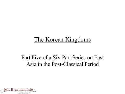 The Korean Kingdoms