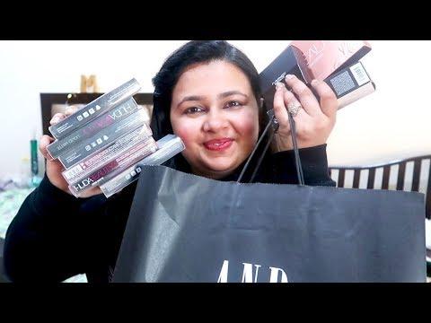Black Friday Makeup Sale Haul (Discounts On Huda Beauty /MAC) + AND FASHION HAUL