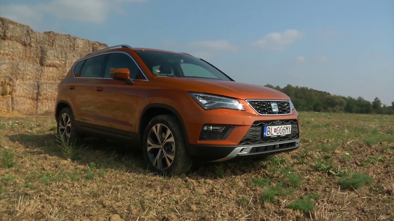 seat ateca 2 0 tdi dsg 4x4 youtube. Black Bedroom Furniture Sets. Home Design Ideas