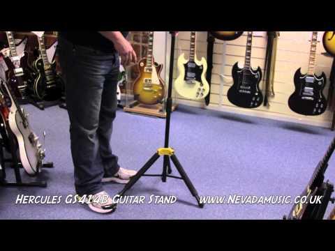 Hercules Stands GS432B Support pour 3 Guitares Noir