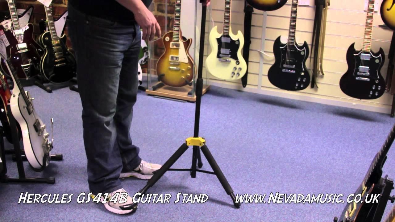 Hercules GS415B A//G Guitar Stand Fold Neck