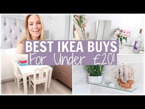 OUR BEST IKEA BUYS FOR UNDER £20! IKEA MUST HAVES FOR HOME STORAGE & ORGANISATION | Alex Gladwin