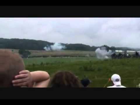 Gettysburg Civil War Reenactment. Oliver Ernest Howard and