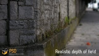 Quick Tutorial  - Realistic  Depth of Field in Photoshop