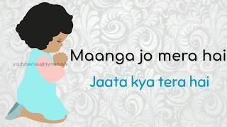 Maanga jo mera hai Whatsapp status | Aaj din chadheya female version | whatsapp status for girl