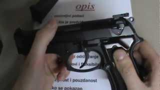 Pištolj Beretta 92-C (Compact) opis