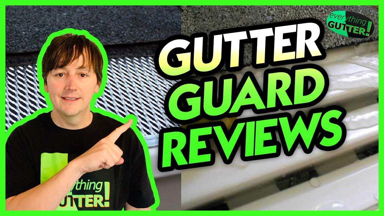 Plastic Or Vinyl Mesh Gutter Guard Review Home Depot