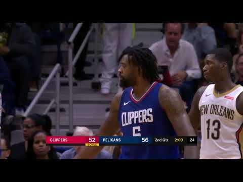 LA Clippers vs New Orleans Pelicans Full Game Highlights - 11/11/17