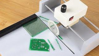 How To Make PCB Circuit board Cutting Machine