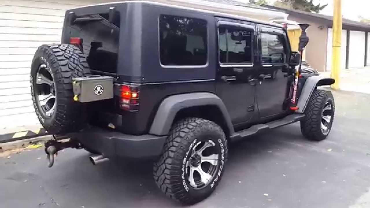 2008 Custom Jeep Wrangler For Sale - YouTube