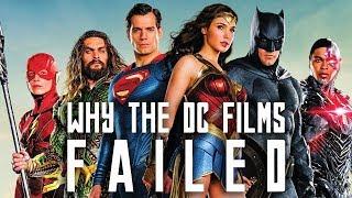 Why the DC Films Failed