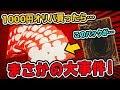 【遊戯王】1000円オリパ買ったらチャンネル史上最大の事件発生!【開封動画】