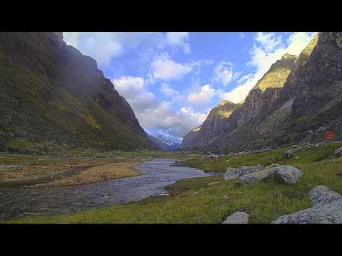 Santa Cruz Trek time-lapse: Sunset - Star trails - Sunrise --Cordillera Blanca, Huaraz, Peru