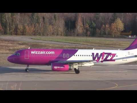 [TRF]  Wizzair & KLM ERJ175 @ Sandefjord Airport, Torp