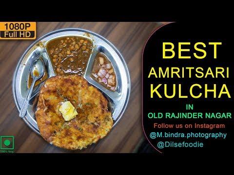 Best Amritsari Kulcha At Kulcha Junction, Old Rajinder Nagar