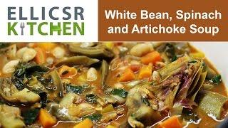 White Bean, Spinach And Artichoke Soup