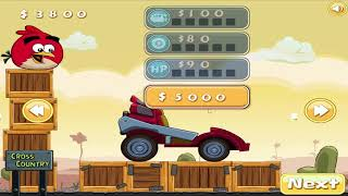 Angry Birds Cross Country - BIRD RACING STUNT WHEELIE GRAND PRIX WALKTHROUGH