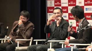 11/24「The Depths」舞台挨拶 Q&A 濱口 竜介(映画監督) 石田 法嗣...