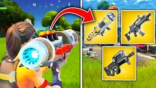 Top 5 LEAKED Fortnite Weapons COMING SOON!