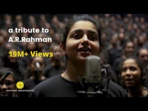 1000 All-girl Choir Pay Tribute To A.R. Rahman At Bollywood Parks Dubai