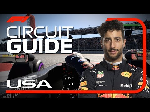 Daniel Ricciardo's Virtual Hot Lap Of COTA | United States Grand Prix