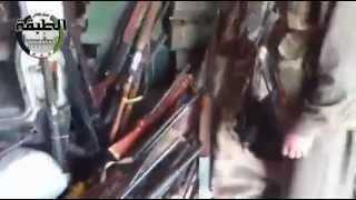 Война в Сирии. Февраль 2013 Захват арсенала
