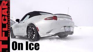 2016 Mazda MX-5 Miata frolicking in the Colorado Snow & Ice