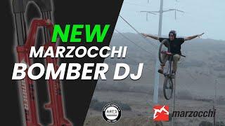 Shredding on the NEW Marzocchi Bomber DJ Fork