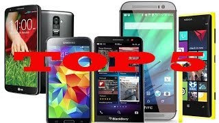 Top 5 mejores Smartphones para comprar en 2014