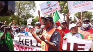Happening Now  Protest Hits Nigerias Kaduna State As Nlc Kicks Against Sack Of Members