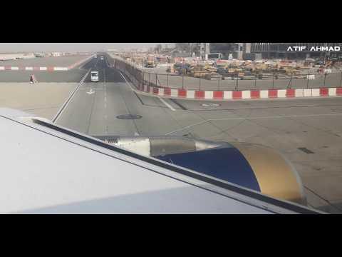 Amazing Take Off Video - Gulf Air Bahrain Airport