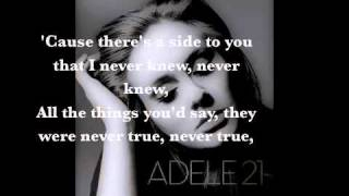 Adele - Set Fire to the Rain [LYRICS+MP3 DOWNLOAD]