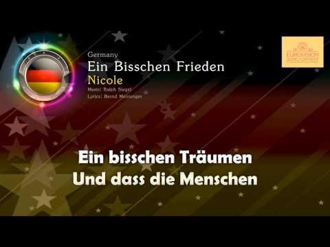 """[1982] Nicole - """"Ein Bisschen Frieden"""" (Germany)"""