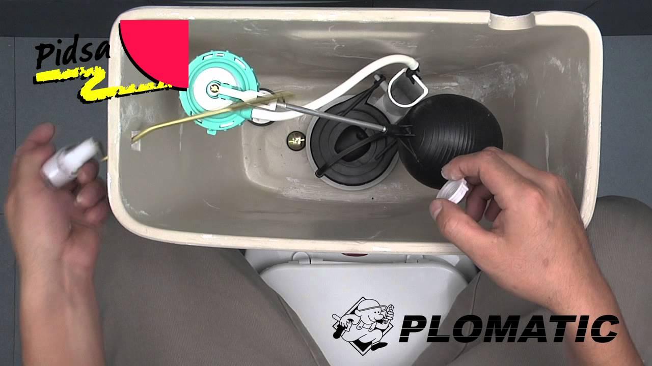 C mo instalar el bot n lateral met lico cromado youtube for Como colocar una mochila de inodoro