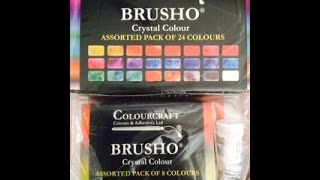 Brusho Crystal Colors Review