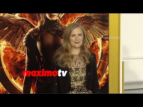 Suzanne Collins   The Hunger Games MOCKINGJAY PART 1 Los Angeles Premiere