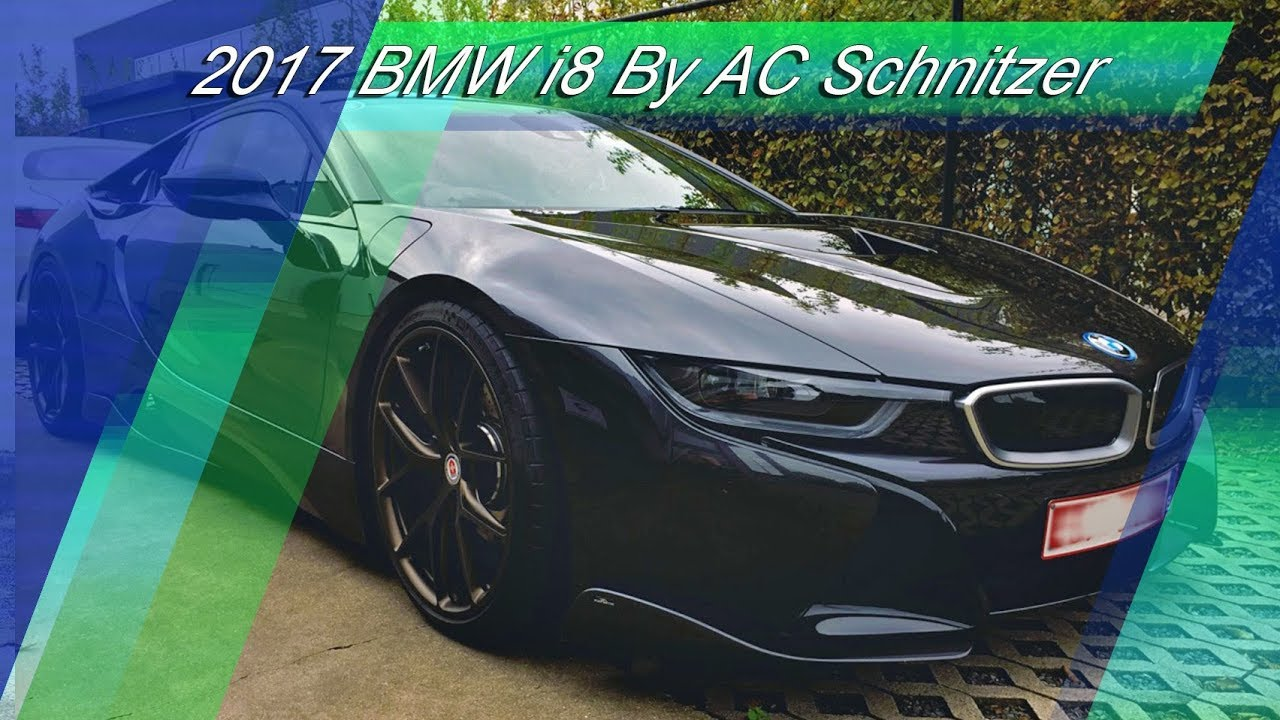 All Black 2017 Bmw I8 Tuned By Ac Schnitzer Youtube