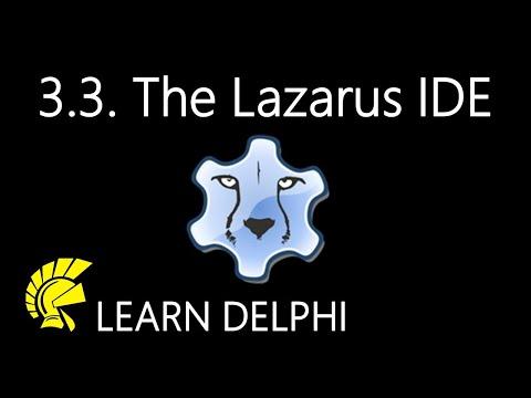 Delphi Programming Tutorial - Unit 3.3: The Lazarus Integrated Development Environment
